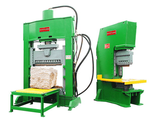 Saw-Cut Face Hydraulic Stone Splitting Machine, Granite Marble Paving Stone Cutting Processing Machinery, Multi-Functional Stone Processing Equipment