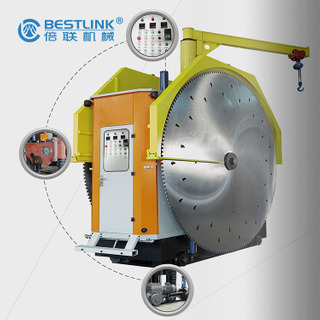Double Blades Mine Cutting Machine