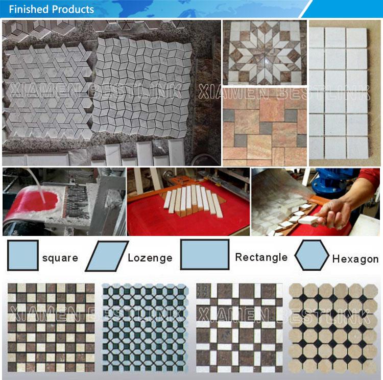 Productos terminados para máquina de mosaico de múltiples hojas
