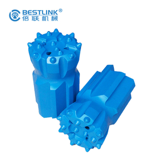 T45 Thread Button Drill Bits 76mm Diameter Retrac Body With Abrasive Resistance