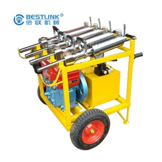 High Efficiency Demolition Tools Hand Held Rock Hydraulic Stone Splitter Machine