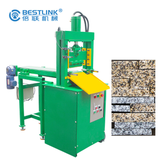 Bestlink MS-12H Hydraulic Mosaic Stone Cutting Splitting Machine for Cubic Block Processing
