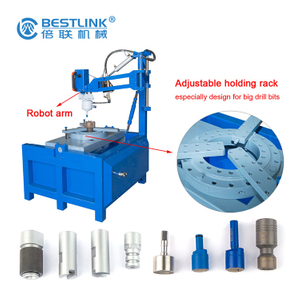 Bestlink factory price Tungsten carbide pneumatic button bit grinding machine