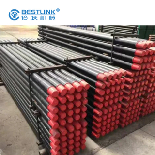 Steel DTH Drill Pipes Rods for Rock Drilling Tools