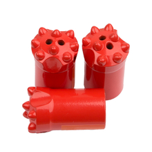 4.46/6/7/11/12 Degree Small Hole Blasting Tungsten Carbide Tapered Button Hard Rock Drilling Bit