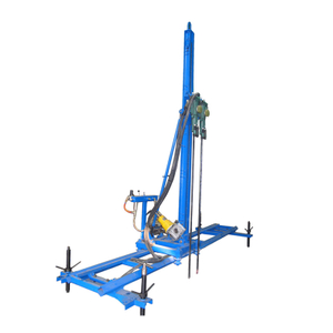 Bestlink Horizontal Pneumatic Mobile Rock Driller Line Drilling Machine for Stone Quarry