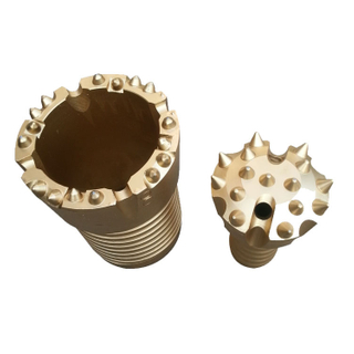 T38 T45 DHD340 DHD350 Double Casing Rock Drilling Bits Crown Bit Inner Opener Bit