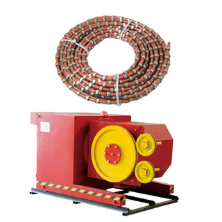 Diamond Wire Saw Cutter for Marble Granite Stone Quarry Cutting