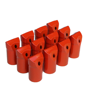 Hex22 108mm Shank Hammer Drill Tapered Chisel Bits for Quarrying Mining
