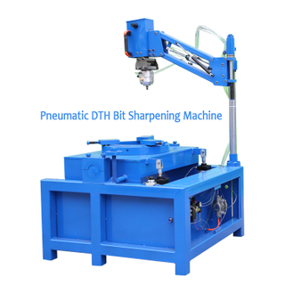 Pneumatic Handheld Button Bit Repairing Machine, Light Weight DTH Bit Sharpener Regrinding Machine