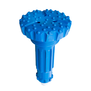 8 Inch High Air Pressure DTH Hammer Button Bits , COP84 DHD380 SD8 QL80 M8 Mission80 Hard Rock Drill Bits